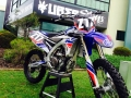 yz 250f 2014 graphics blue red